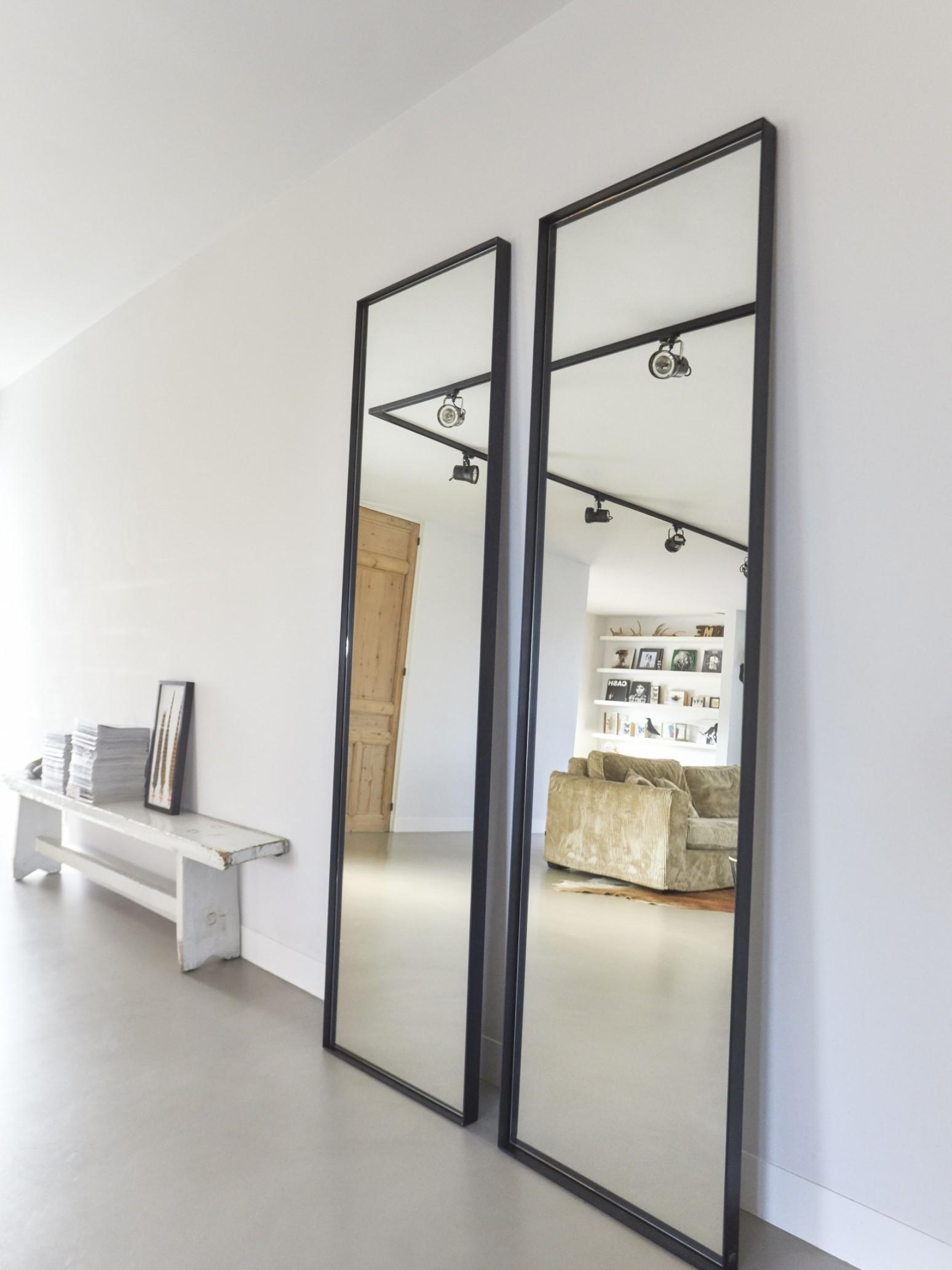 Grote stalen spiegels | Frontstaal