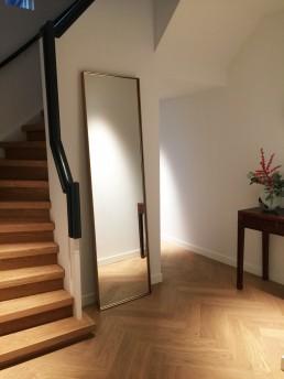 Frontstaal XL stalen spiegel brons 220x60 cm | Villa Bloemendaal