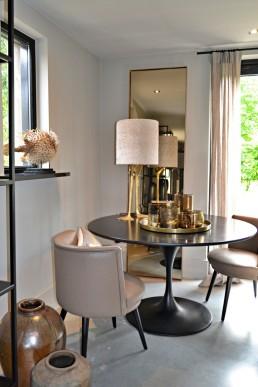 Frontstaal stalen spiegel brons, gebronsd glas | Violier at Home