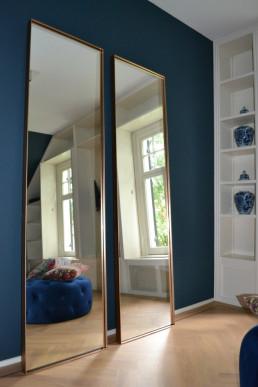 Frontstaal XL stalen spiegels brons | Master bedroom (Soest)