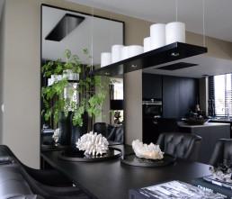 Frontstaal XL stalen spiegel op maat | Woonhuis Alblasserdam